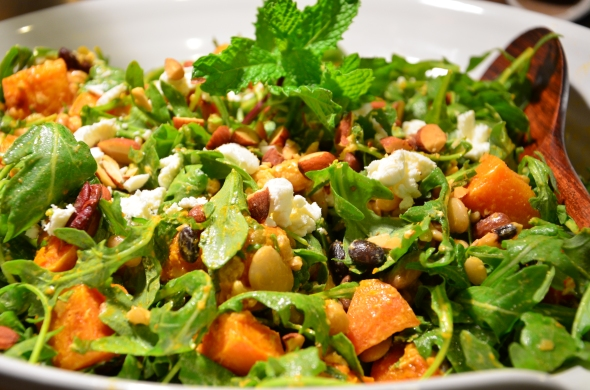 Mediterranean Harvest Salad