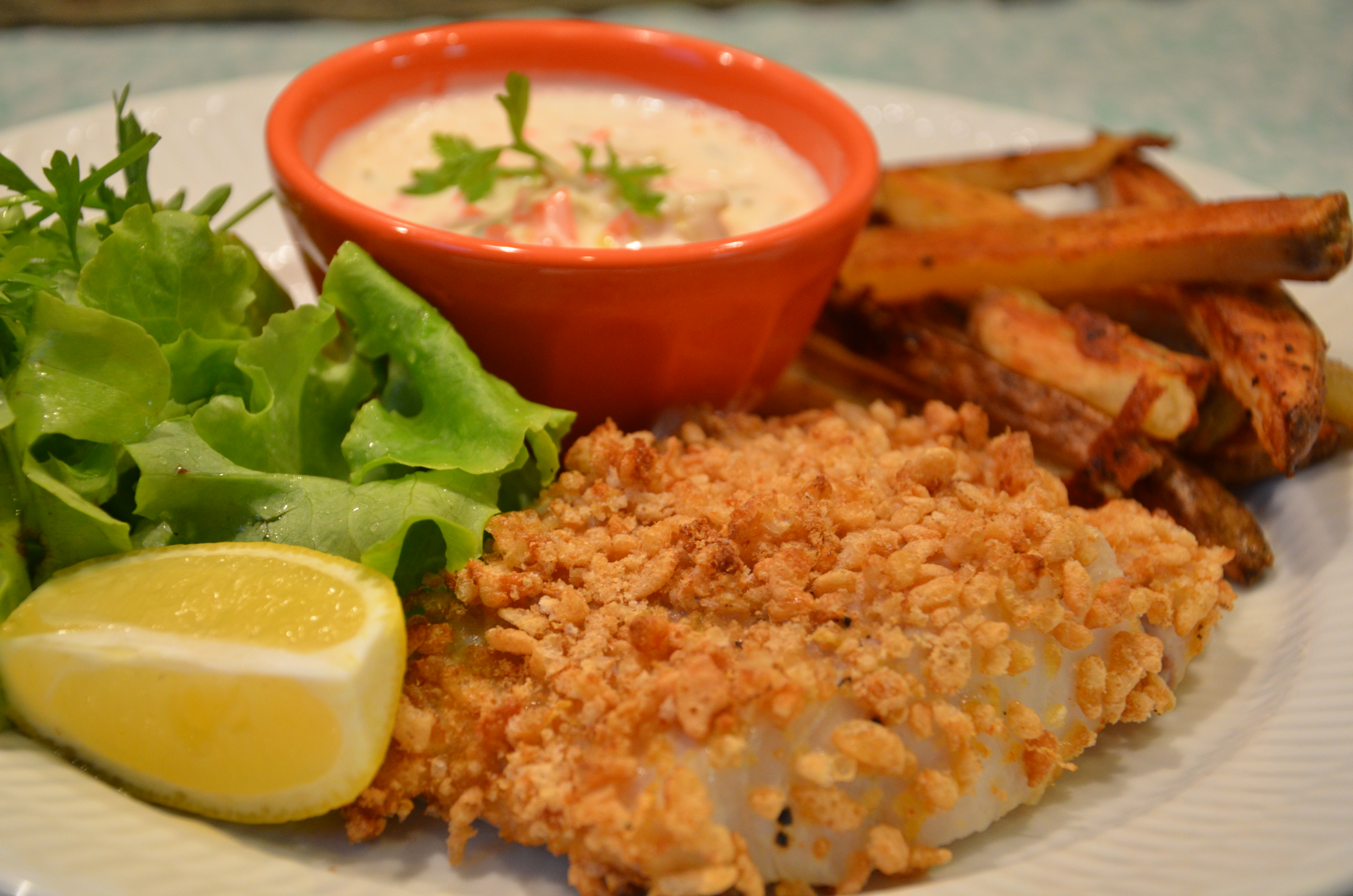 Guilt free fish and chips with cape ann fresh catch pollock for Pollock fish recipe