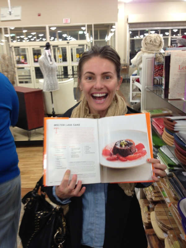 My Molten Lava Cake made it into the MasterChef Ultimate Cookbook.