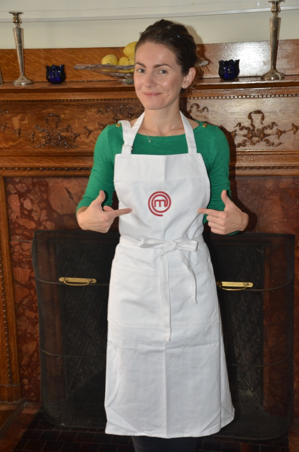 Win this MasterChef apron, simply by submitting your email address to follow www.braveapron.com.  Good Luck!