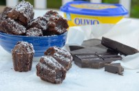 A better Brownie substituting butter for Olivio Spreadable Butter with Olive Oil