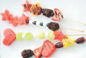 Magic Wand Fruit Kabobs